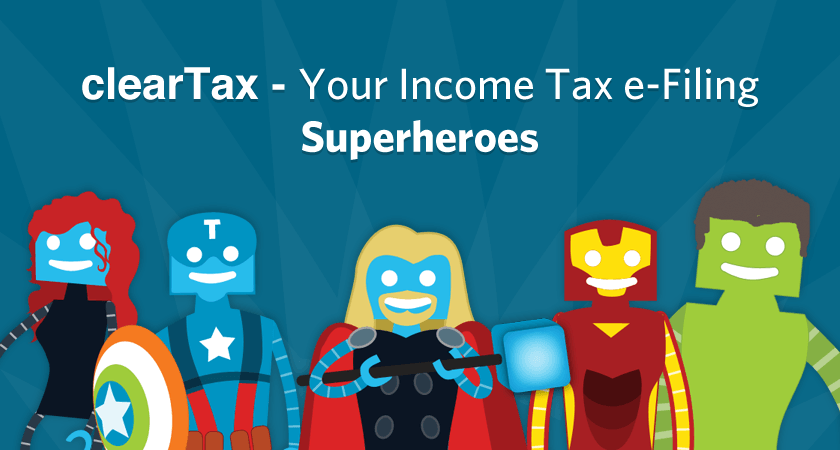 ClearTax superheroes
